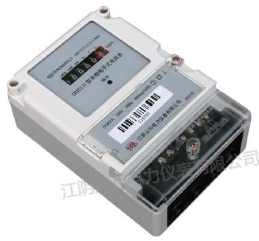 dds131型单相电子式电能表